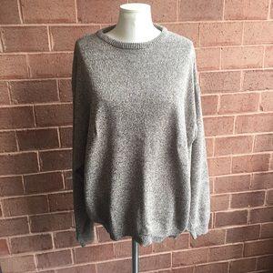 Other - Gap Vintage Light Heathered Brown Crewneck Sweater